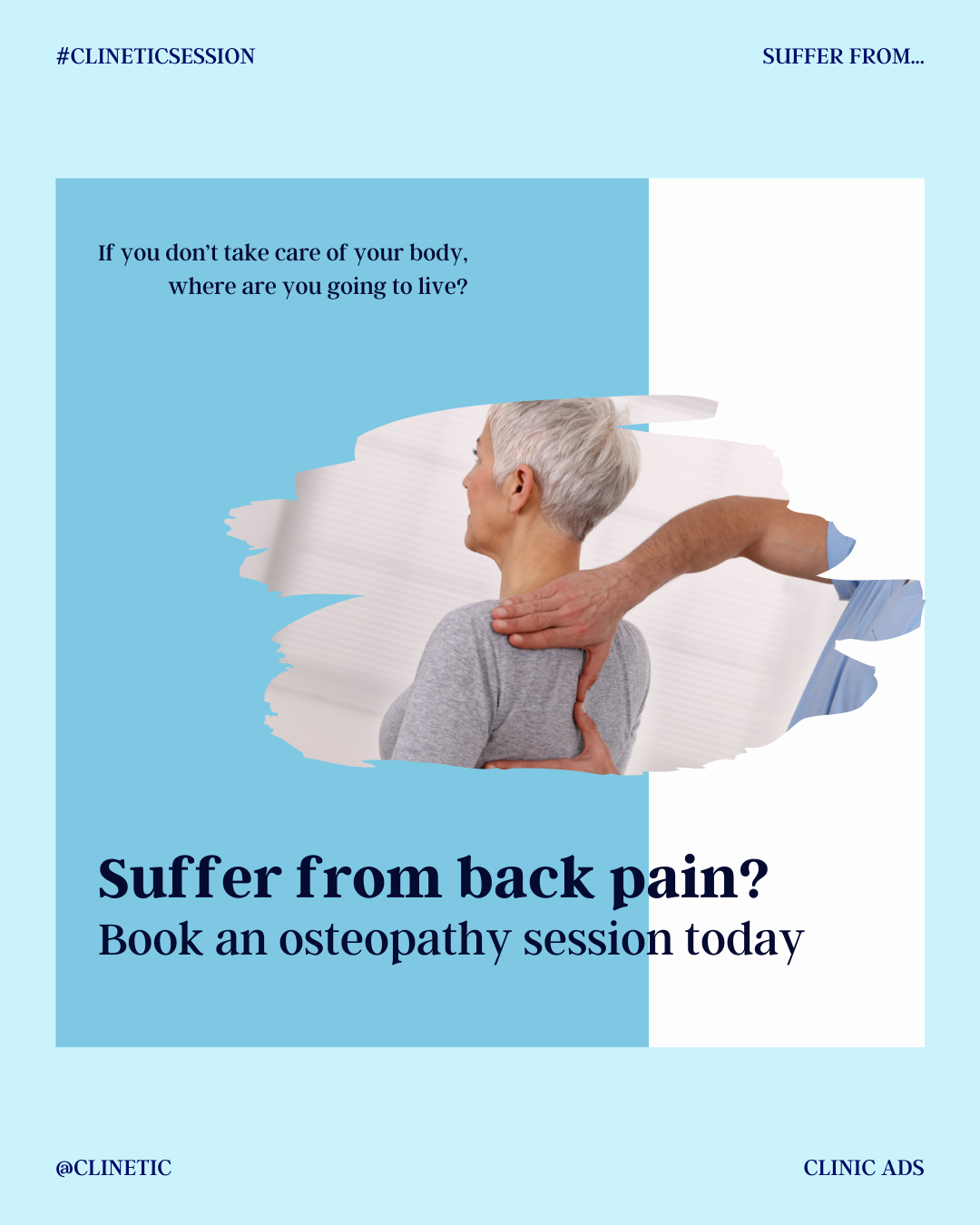 Suffer from back pain?!