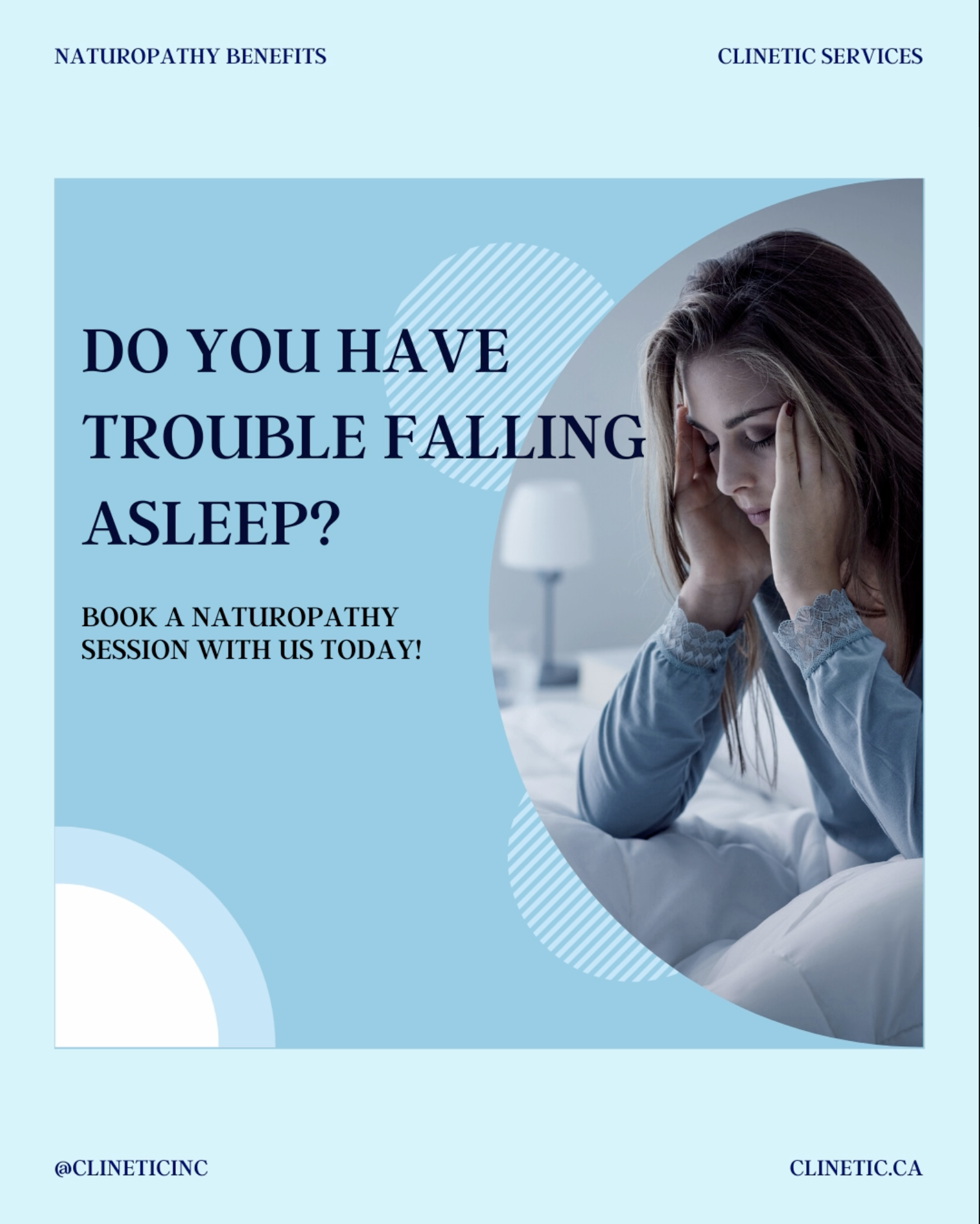 Do you have trouble falling asleep?(insomnia)