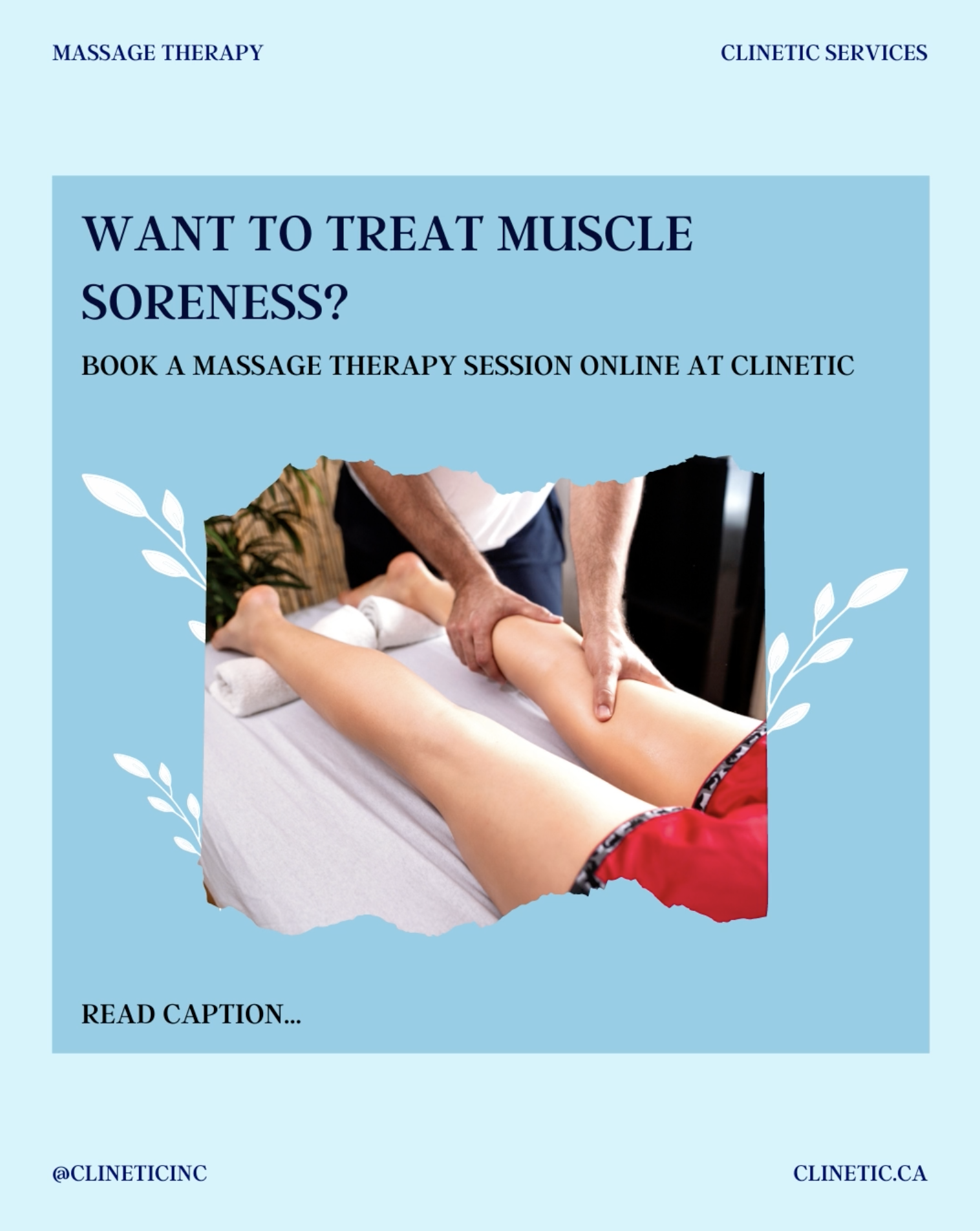 Do you have muscle soreness?