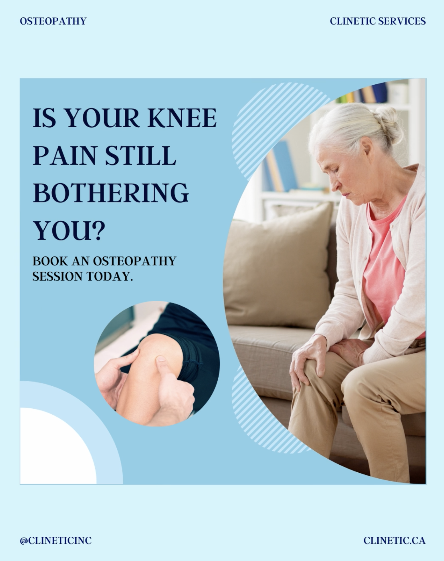 Is your knee pain still bothering you?