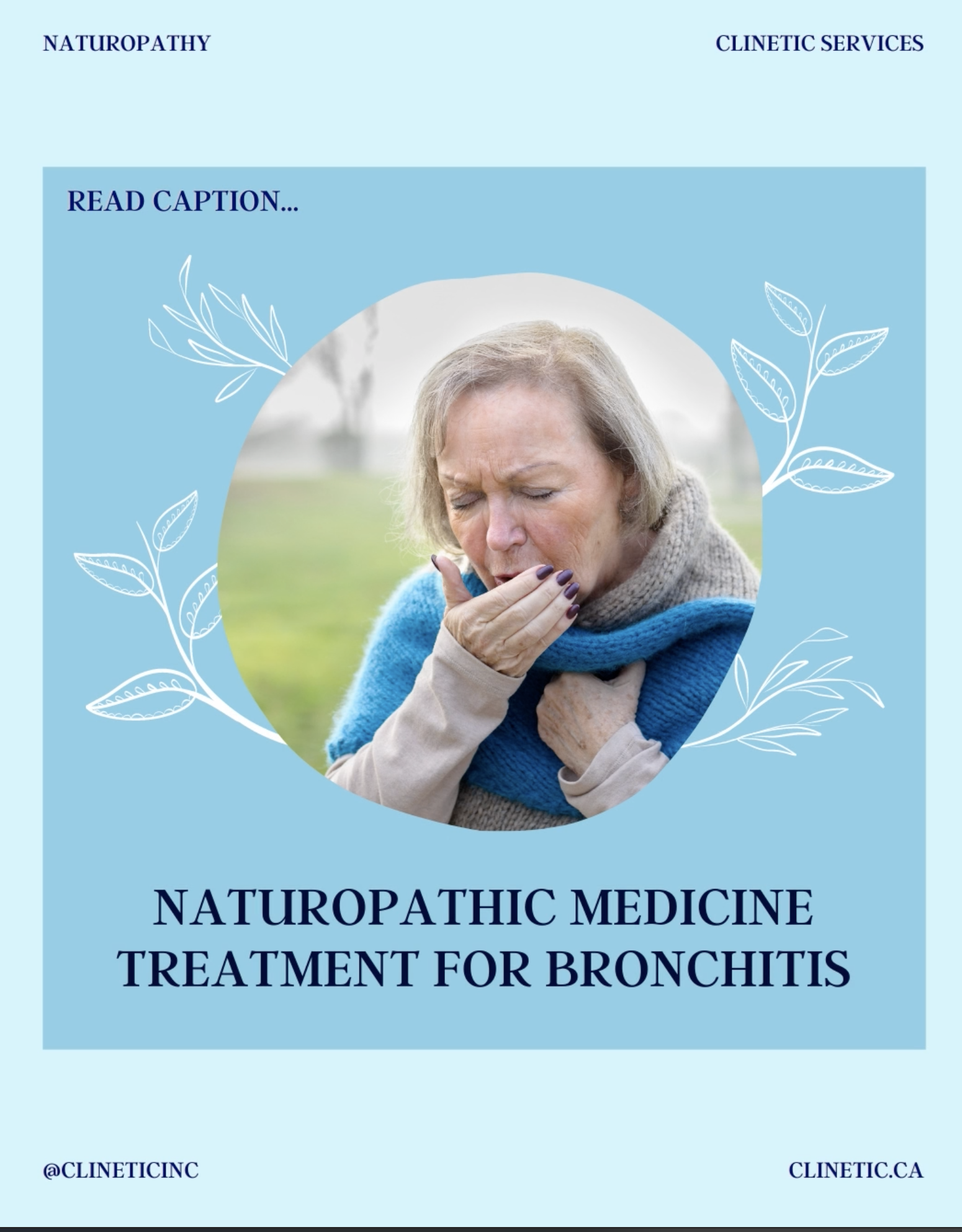 Naturopathic medicine treatment for Bronchitis