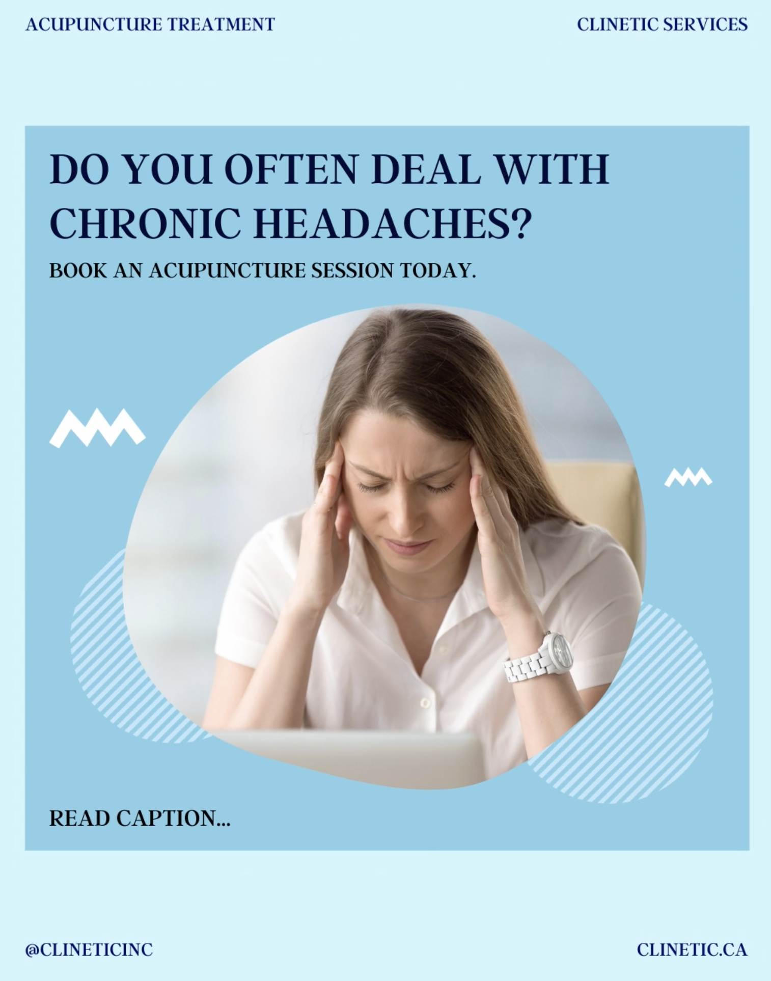 Do you often deal with chronic headaches?