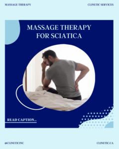 Massage Therapy for Sciatica