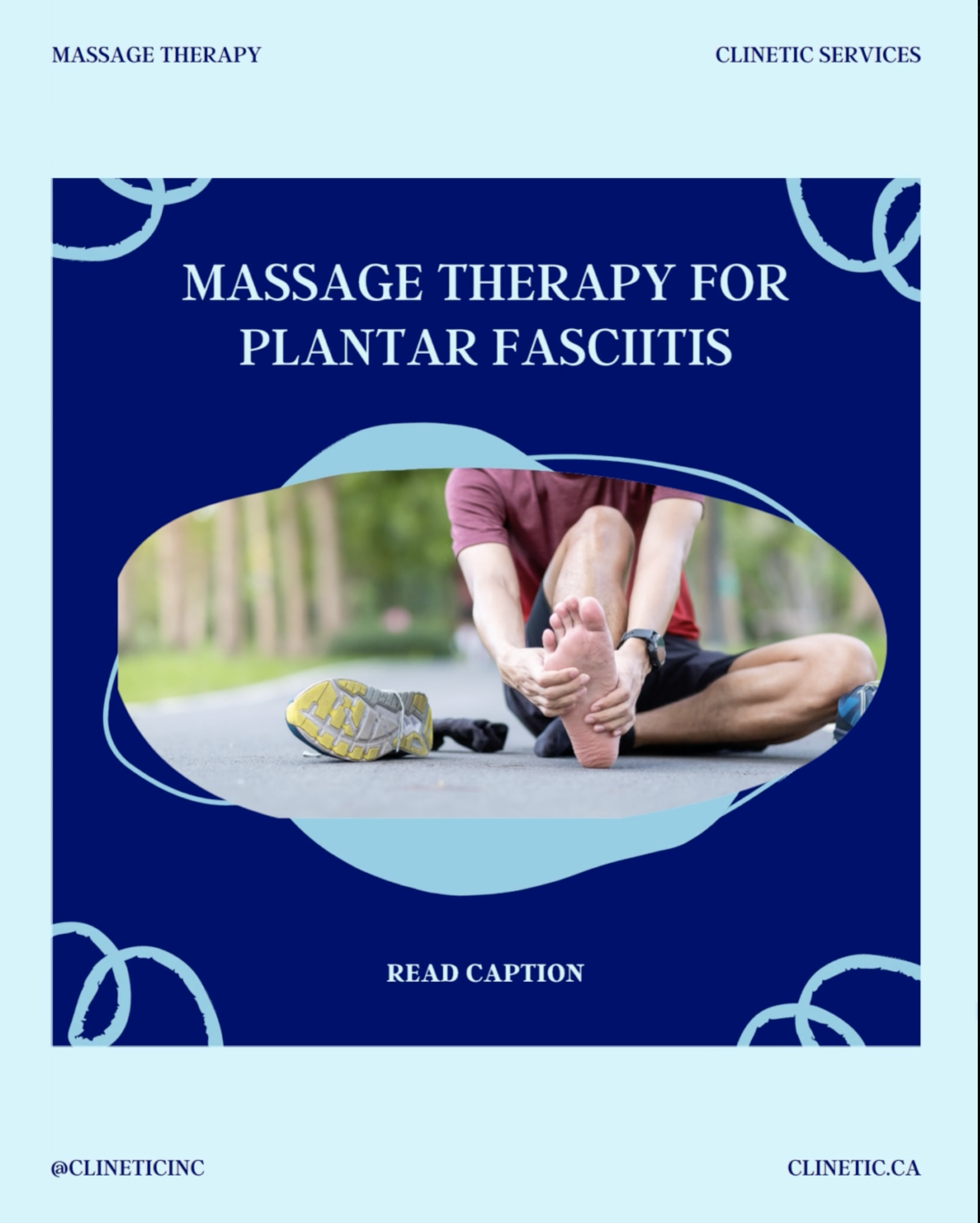 Massage Therapy for Plantar fasciitis