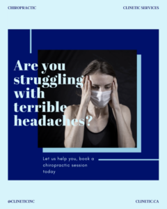 Are you struggling with terrible headaches?