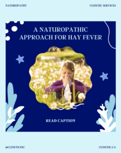 Hay fever is a type of environmental allergy