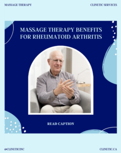 Massage Therapy Benefits for Rheumatoid Arthritis